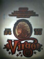 Vintage Iron On Tshirt Heat Transfer 1979 Virgo Lion Astrology Horoscope DIY HTF