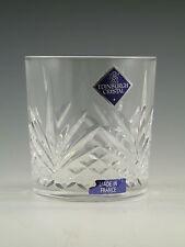 "EDINBURGH Crystal - SIERRA Cut - Whisky Tumbler Glass / Glasses - 3"""