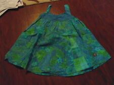 NAARTJIE KIDS 4 4T BLUE FLORAL DRESS