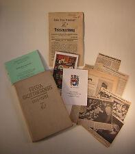 Studentika Frisia Gottingensis 1811-1931 Burschenschaft Verbindung Konvolut !!