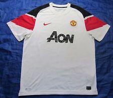 MANCHESTER UNITED away shirt jersey NIKE 2010-2012 MU Red Devils /men/ SIZE XL