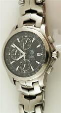 Men's Stainless Steel Tag Heuer Link Automatic Chrongraph Model CJF2110 Watch