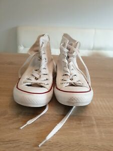 Converse chuck taylor all star hi tops size uk 6 used