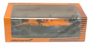 Spark McLaren MCL35 #55 2nd Italian GP 2020 - Carlos Sainz Jr. 1/43 Scale