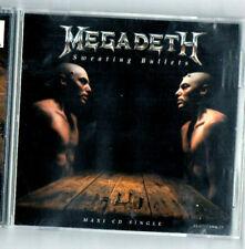 MEGADETH SWEATING BULLETS CD MAXI SINGLE