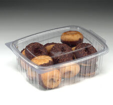 750cc Disposable Plastic Salad/Pastry Catering Caterbox Boxes (Case of 100)