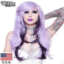 RockStar Wigs® Downtown Girl™   - Lavender Blonde Mix & Black Plum Mix -00514