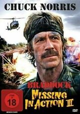 Braddock Missing in Action 3 DVD 1980s Chuck Norris All Regions