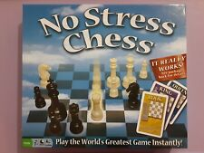 No Stress Chess Board Game Learn Chess Easy For Kids Adults Complete