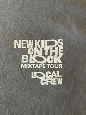 New Kids on the Block Mixtape Tour Local Crew T-Shirt Gray Xl