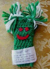 Cobweb Man - Crocheted - Green - Duster - Handmade
