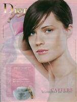 Publicité contemporaine crème Capture Dior 2003 issue de magazine