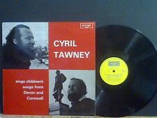 CYRIL TAWNEY Sings Children's Songs From Devon and Cornwall  LP  Lovely copy !!