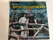 Jerry Lee Lewis & Linda Gail Lewis, Together, EXc Smash Label 12`` LP