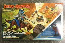 Vintage Tyco Dino Riders Series 2 PACHYCEPHALOSAURUS 1989