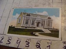 Orig>Vint>post card<PUBLIC LIBRARY, ST PETERSBURG 1923 --FLORIDA