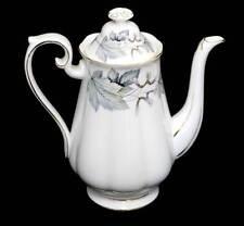 Vintage Royal Albert Silver Maple pretty coffee pot