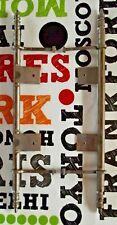 Ancienne Paire Charnière Invisible Placard Armoire Buffet Vintage 35 cm, 1970