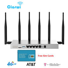 4G LTE Wifi Router T-Mobile AT&T SIM Card Slot Unlock 1200Mbps Hotspot Wireless