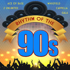 cd rhythm of the 90s d'Artistes Divers 2CDs avec ACE OF BASE, 2 UNLIMITED