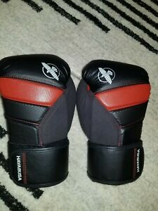 Hayabusa T3 Boxing Gloves 10 oz Black/Red New
