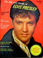 Elvis Presley Magazine 1977 Life And Death Of Elvis Memorial Tribute Pinup Photo