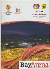 ORIG. prg Europa League 10/11 bayer 04 leverkusen-Aris Salónica! top
