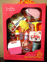 """Our Generation Shiny & New Car Wash Set 18"""" Doll Clothes Jeep Accessories AG"""
