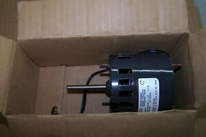 NEW DAYTON 1/100 HP A/C MOTOR SHADED POLE 115 VAC 1550 RPM 1 PHASE 3M558B