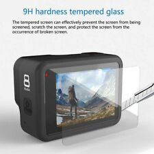 3Pcs Screen Protector Set for GoPro Hero 8 Sports Camera 9H Tempered Glass Film