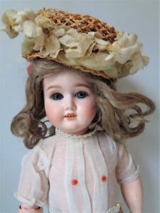 Antique Doll Hat For French Fashion Lady Jumeau Bru Jne German Steiner