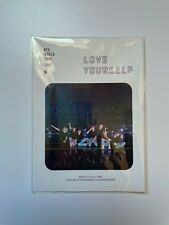 BTS LOVE YOURSELF SEOUL DVD Official PRE-ORDER STICKER SET