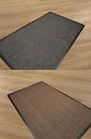 SMALL/LARGE/EXTRA LARGE HEAVY DUTY RUBBER BACKED NON SLIP DOOR/FLOOR MATS,WOW!!