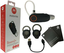 Motorola Boom 2 agua Resistant IP54 Wireless Headset Plus Moto Boom 2 + al por menor