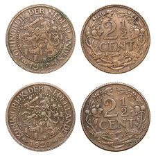 Netherlands - Lot  2½ Cent 1918, 1929