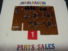 Kenwood KR-V106R Circuit Board w/4 6556 Integrated Circuits Parting Out KR-V106R