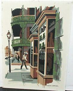"MARK COOMER ""ROYAL STREET"" ORIGINAL LIMITED EDITION SERIGRAPH"