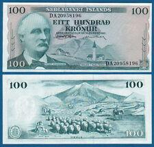 Islande/ICELAND 100 KRONUR 1961 unc p. 44