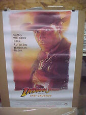 Indiana Jones And The Last Crusade, orig rolled advance 1-sht / movie poster