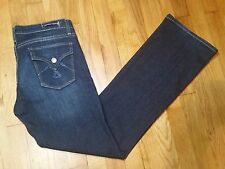 Vigoss Bootcut Jeans Size 9 Low Rise Medium Wash RN 110712 Really Nice