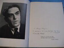 GEORGES / LUDMILA PITOEFF NOTRE THEATRE 1949 Illustré ENVOI Signé 2000 EX. RUSSE