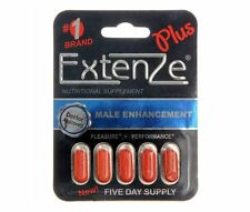 10 x Pills GENUINE ExtenZe Plus Sexual Male Enhancer just $1.60 for 1 Pill