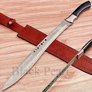 Handmade Damascus Book Of ELI Movie Machete/Sword With Micarta Handle BPH# 003