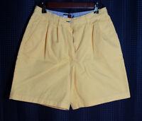 Tommy Hilfiger Shorts Light Yellow Women's Size 8