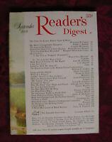Readers Digest September 1969 Tarzan Edgar Rice Burroughs James A. Michener