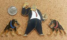 Fantasy Disney Pin Set. Oliver & Company Characters-Disney Dog Pin-LE 50