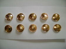 Metal buttons with anchor 22mm Classic Fashionable Golden Anchor