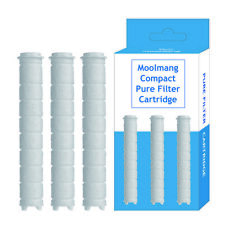Moolmang Compact Pure Shower Filter Cartridg 3 PC in 1 Pack