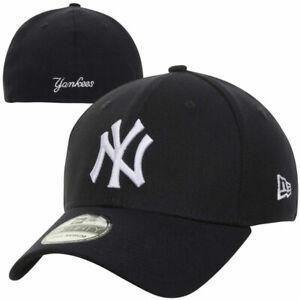 2021 New York Yankees NY New Era MLB 39THIRTY Team Classic Stretch Flex Cap Hat