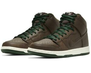 Nike Men's Dunk High SB 'Baroque Brown' Skate Shoes CV1624-200